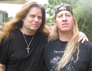 Craig Goldy at Ride for Ronnie James Dio Concert