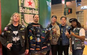 Thrash Patch Jackets at Death Angel Show