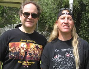 Eddie Trunk at Ride for Ronnie James Dio Concert